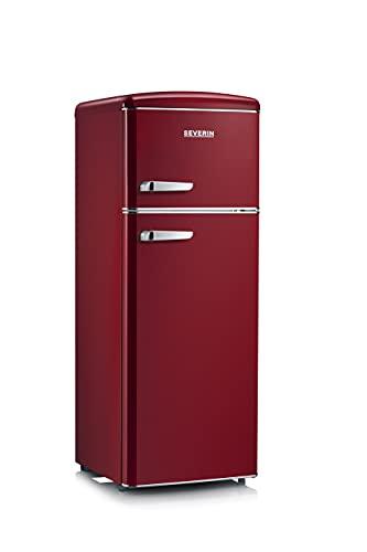 Severin RKG 8931 koel- en vriescombinatie vrijstaand Bordeaux koelkast (208 l, N-ST, 41 dB, 2,5 kg/24h, 208 liter