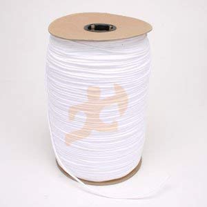 White Unglazed Trickline Rope - 600 ft x 1/8 inch Theatrical Tie Line Heavy Duty Spool, Cable Management and Wire Tie - for Theatre, Stage Decor, Rigging and Utility Applications - Xpose Safety