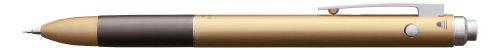 Tombow SB-TZLA83 Zoom L102 - Bolígrafo multifunción con tinta roja y negra, y portaminas, color dorado
