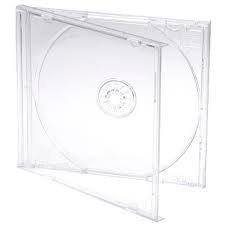 DragonTrading® CD-/DVD-Hüllen, transparent, Profi-Qualität, 10 Stück