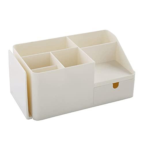 Ogólnopolski organizator staży stacjonarnej, schowek folderu, stojak na książki typu szuflady (Color : Creamy-White)