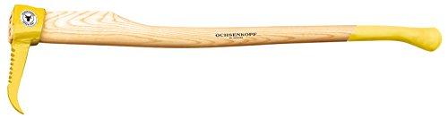 OCHSENKOPF Sappie, Stiel aus Eschenholz, gezahnt, 1100 mm, 2300 g, für Holz, Forstwerkzeug, OX E-76 E-1302