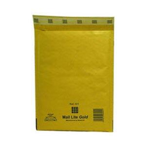 Sealair Mlgh/5 Buste Postale Imbottite, Giallo, 270X360 mm, 50 Pezzi