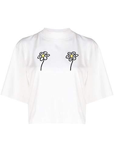 Palm Angels Luxury Fashion dames PWAA020S20JER0050210 wit T-shirt   Lente zomer 20