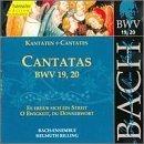 Sacred Cantatas Bwv 19 20 by JOHANN SEBASTIAN BACH (1999-07-13)