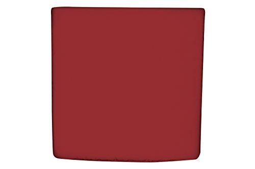 Doppler Coussin d'assise en Textile Motif 833 Bordeaux Env. 38 x 38 cm