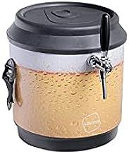 Chopeira a Gelo Lavita cooler 21l - preto beer com serpentina em alumínio e torneira italiana 1 via