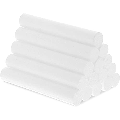 Foam Cylinders for Crafts (6 in, 15 Pack)