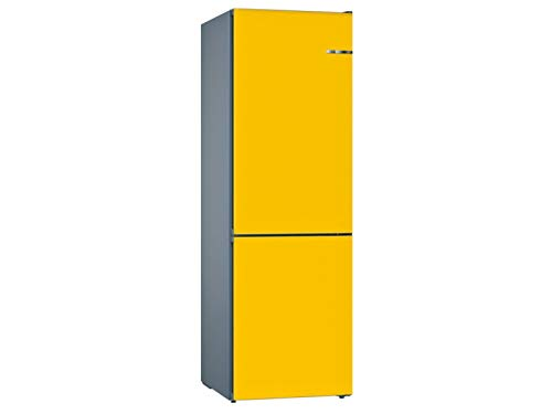 Bosch KVN39IF3A Kühl-Gefrier-Kombination VarioStyle Sonnenblume mit austauschbarer Farbfront/A++ / 279 l / 203 cm/NoFrost, VitaFresh, EasyAccess Shelf