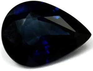GemsNY GIA Certified Sale special price Untreated 1.37 Sapphire Natural Carat Blue Oakland Mall