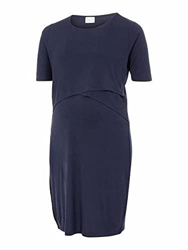 Mamalicious MLALISON June 2/4 Jersey Dress 2F CU. Robe, Navy Blazer, XL-52/54 Femme