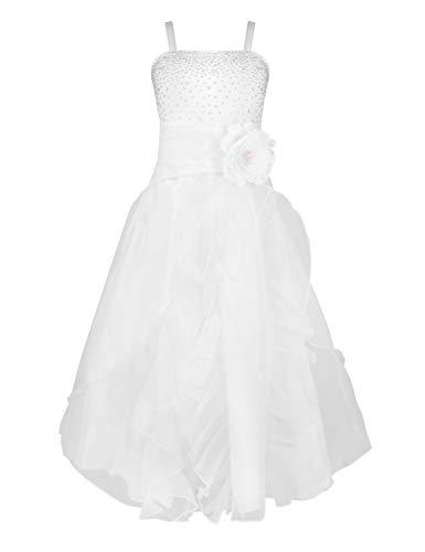 CHICTRY Mädchen Kleider Festliches Hochzeits Kleid mit Blumen Kinder Brautjungfernkleid Festzug...