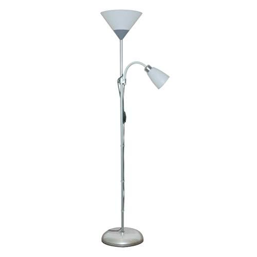 SKSNB Lámpara de pie LED Lámpara de pie Moderna para Sala de Estar, Lámpara de Mesa Creativa Lámpara de pie 2 en 1, Desmontar el Cuerpo de la lámpara, Lámpara de Lectura para Sala de EST