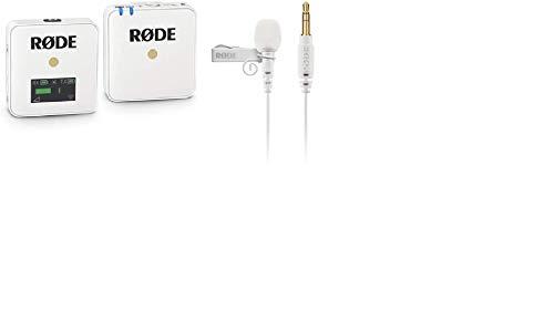 【セット買い】【国内正規品】RODE ロード Wireless GO white ワイヤレスシステム WIGOW & 【国内正規品】RODE ロード Lavalier GO white 3.5mm TRS ラベリアマイクLAVGOW