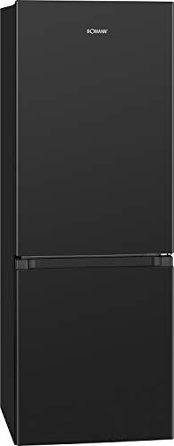 Bomann KG 320.2 / Frigorífico/congelador / 122 L/Congelador 43 L/Descongelación automática / 160 kWh/Negro