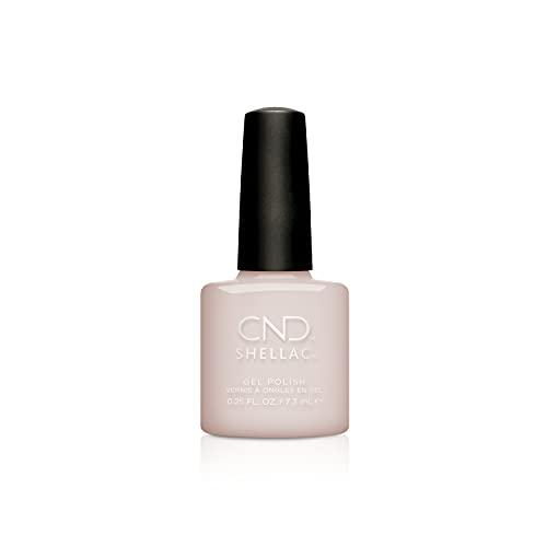 CND Shellac Gel Nail Polish, Long-lasting NailPaint Color with Curve-hugging Brush, Nude/Brown/Tan Polish, 0.25 fl oz
