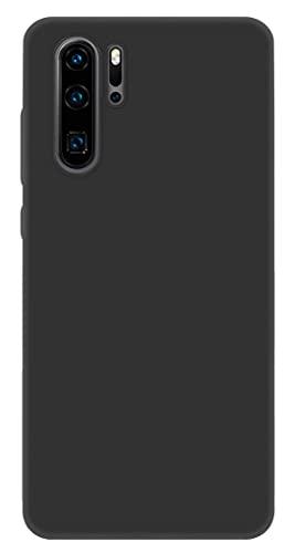 ICOVERI Funda Compatible con Huawei P30 Pro. Funda Protectora Ultrafina Mate. Carcasa Tacto Suave Antideslizante Antigolpes Anticaidas Compatible con Huawei P30 Pro. TPU. Color Negro