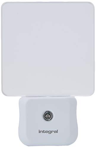 Integral LED Night Light, Plug in Walls with Dusk to Dawn Photocell Sensor, Auto Sensor Night Lighting for Hallways, Stairs, Bedrooms, Landings, Children's Room, Baby, Kids, Infants Nursery, Garage