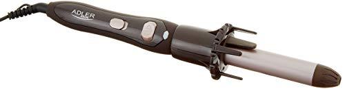 Adler - Rizador de Pelo Negro, automático, Talla única
