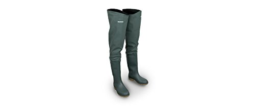 Shimano PVC Thigh Boot Watstiefel Größe 42 SHPVCTHB42 Watstiefel Thigh Boots Angelstiefel Stiefel Watbekleidung