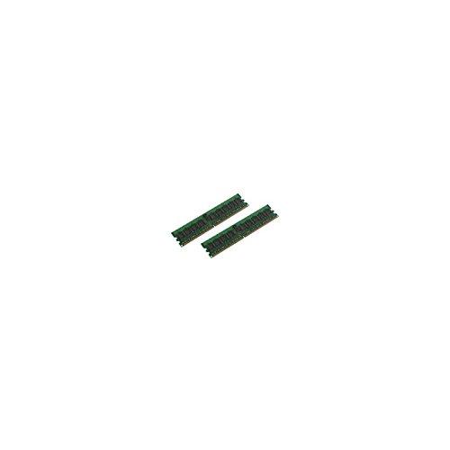MicroMemory Kit 2x2GB DDR2 400Mhz ECC/REG módulo de - Memoria (4 GB, 2 x 2 GB, DDR2, 400 MHz)