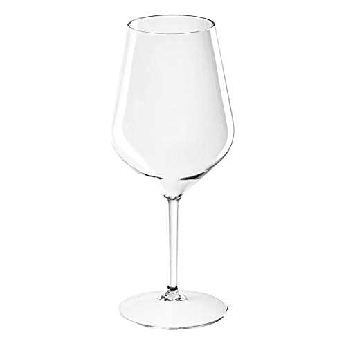 SENO&SENO Calice da Vino Armony in Tritan CL. 47 Multiuso, Utilizzabili Piu' Volte (4)