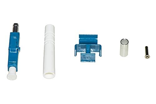 LINK LKCLCSM - Conector de fibra óptica LC Singlemode Duplex, 100 unidades