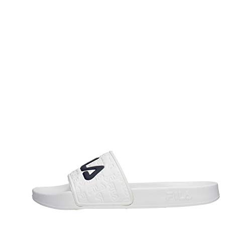 Fila Boardwalk Slipper Chanclas Hombre Blanco 44