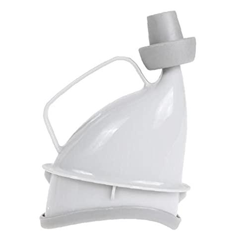 Ruluti Unisex Reutilizable Dispositivo de urinario portátil Viaje Aseo móvil Camping PIE Urinal Urinal Emergencia DE Emergencia Sentado