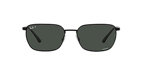 Ray-Ban 0RB3684CH-002/K8-58, Gafas Hombre, Negro, Talla única