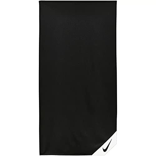 Nike Cooling Small Towel Handtuch (one Size, Black/White)
