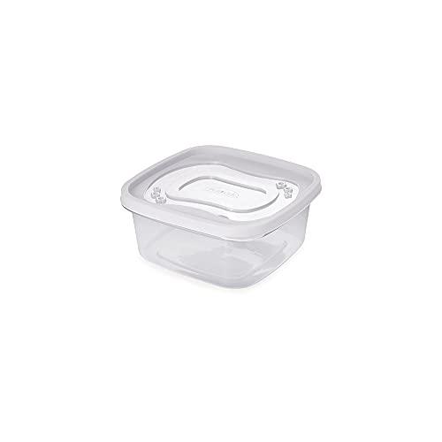 Pote Quadrado Plasútil Branco 1.1 L