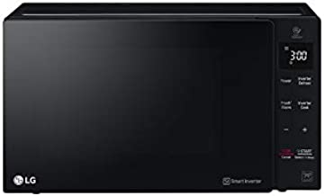 LG 25 Liters NeoChef Smart Inverter Microwave with Grill, Black - MH6535GIS, 1 Year Warranty