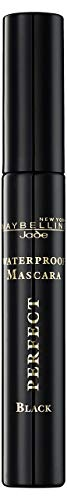 Maybelline New York Cream Pearl Mascara schwarz Waterproof, 1er Pack (1 x 7 ml)