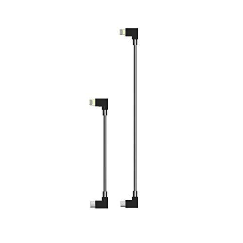STARTRC Type C USB a OTG Cable de 11.8 Pulgadas de 90...