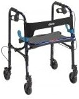 Drive DeVilbiss Healthcare 10230 Clever-Lite Walker, Adult, with 5