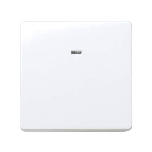 Interruptor ancho unipolar con luminoso Simon 27 Play 10 A Blanco