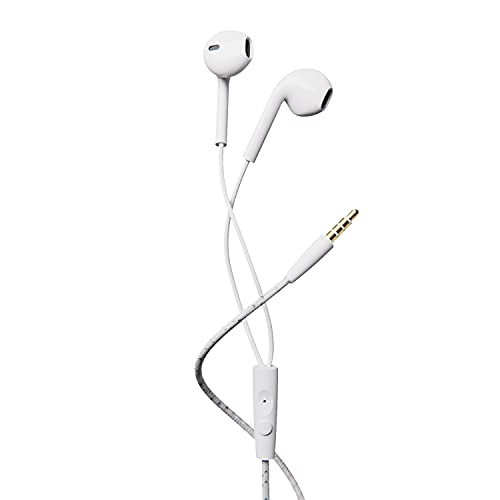 Boat Bassheads 105 in-Ear Wired Headset(White)