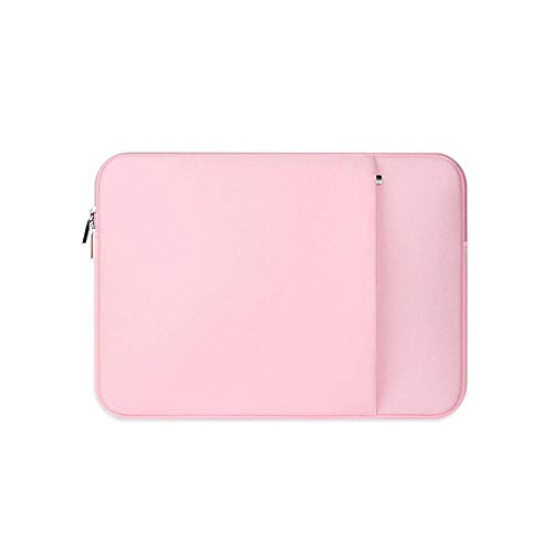 Laptop Sleeve 11 12 13 14 15 15.6 inch ntebook case Soft Bag for acbook Air Pro Retina Tablet Pocket-Pink_Set_for Surface Laptop2