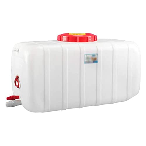 25L Acampar Contenedor de Agua con Grifo, Engrosamiento de la PC Tanque de Almacenamiento de Agua Portátil Acampar Viajes En Auto Inicio Viaje Transporte Agua Natural Tanque de Almacenamient(Size:25L)