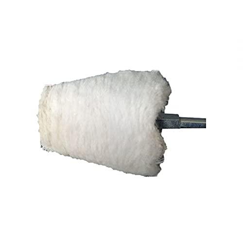 Almohadillas de pulido de coche, disco abrillantador para taladro rueda para pulir setas para pulidora y cera
