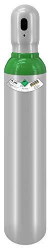 8 Liter Flasche Neue Gasflasche gefüllt mit Argon 4.8 150bar (Reinheit 99,998%) 10 Jahre Legalisierung WIG Schweissgas