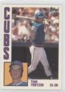 Tom Veryzer (Baseball Card) 1984 Topps - [Base] - Tiffany #117