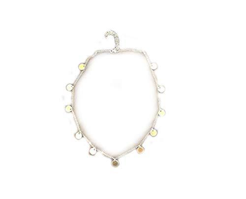 no see long time Collar con Colgante Chapado en Oro, con Relleno de Oro, minimalismo, Collar de Capas.