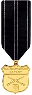 Medals of America Coast Guard Expert Rifle Medal Miniature Anodized