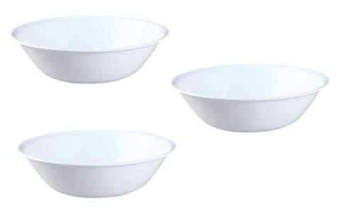 CORELLE Livingware 2-quart Serving Bowl Winter Frost White (3)