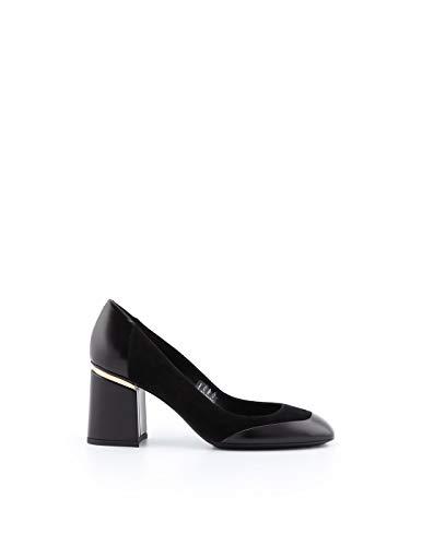 Tod's Luxury Fashion Damen XXW11B0Z170JM4B999 Schwarz Leder Pumps | Jahreszeit Permanent