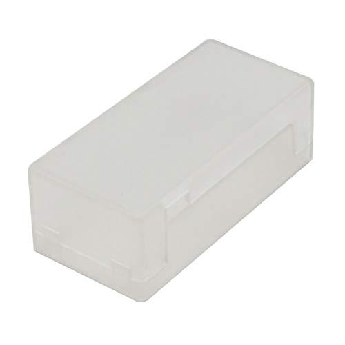 Yardwe Carcasa Protectora Hueca de Carcasa Premium para Raspberry Pi Cero (Transparente)