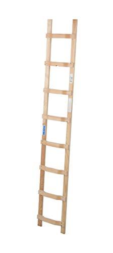 Holz Dachleiter 1x8 Spr. L2,25m Auflegeleiter Krause 804402