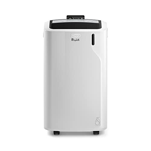 De\'Longhi Pinguin Klimaanlage, leise, Timer 24 Stunden, PAC EM90, 63 Dezibel, Leistung 1000 W, Weiß